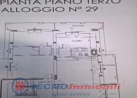 Bilocale Settimo Torinese Via Fantina 2